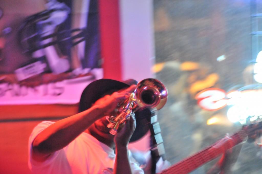 Kermit Ruffins Bullets Sports Bar New Orleans 03-23-10e