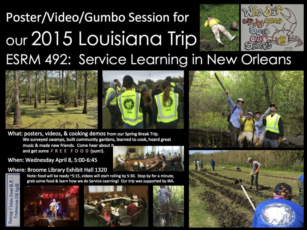 NOLA Poster Session Ad 2015